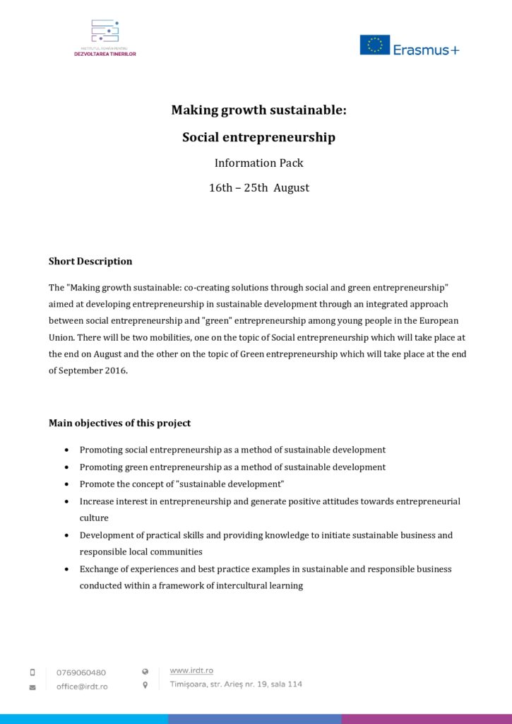 Making growth sustainable Social Entrepreneurship August 2016_page-0001